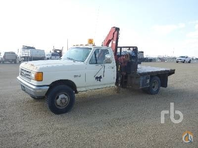 1989 FORD F350 Crane for Sale in Nisku Alberta on CraneNetworkcom