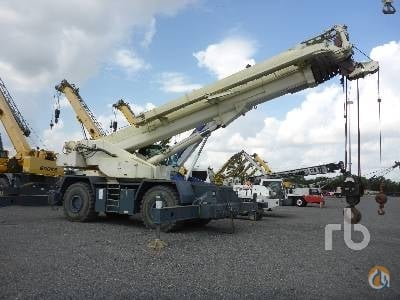 2011 TEREX RT100 Crane for Sale in Humble Texas on CraneNetworkcom