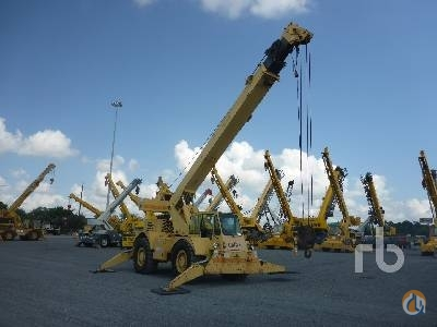 1996 GROVE RT58D Crane for Sale in Humble Texas on CraneNetworkcom