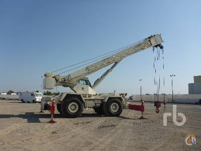 1998 TEREX RT160 Crane for Sale in Dunnigan California on CraneNetworkcom