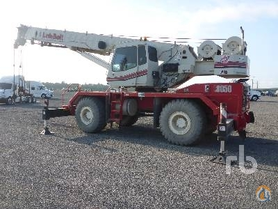 2007 LINK-BELT RTC8050 Crane for Sale in Humble Texas on CraneNetworkcom