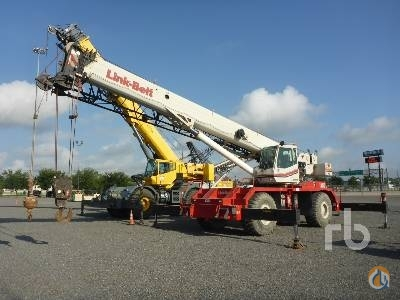 LINK-BELT RTC8065 Crane for Sale in Humble Texas on CraneNetworkcom