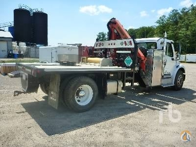 2012 FREIGHTLINER M2106 Crane for Sale in Caledon Ontario on CraneNetworkcom