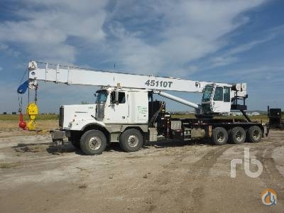 2012 WESTERN STAR 4900SA Crane for Sale in Nisku Alberta on CraneNetworkcom