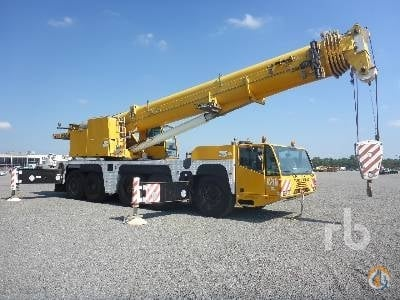 2003 DEMAG AC160-1 Crane for Sale in Humble Texas on CraneNetwork.com
