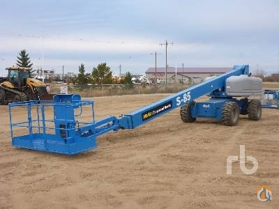 2007 GENIE S85 Crane for Sale in Nisku Alberta on CraneNetwork.com