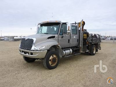 2007 INTERNATIONAL 4200 Crane for Sale in Nisku Alberta on CraneNetwork.com