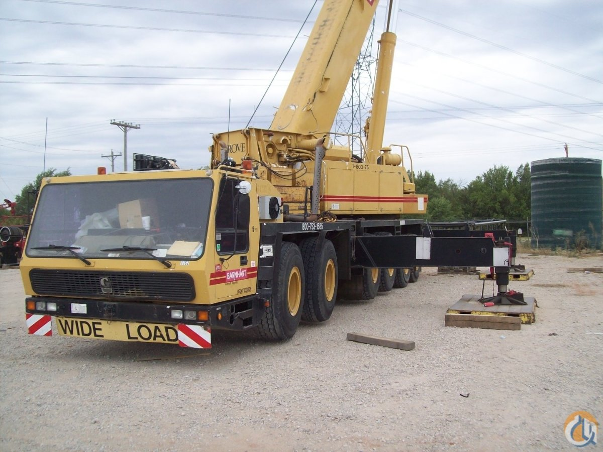 1998 Grove GMK6200 Crane for Sale in Spokane Washington on CraneNetwork.com