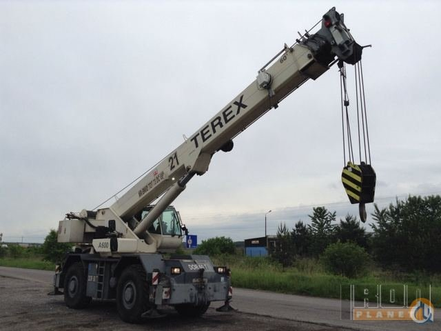 Sold 2002 Terex A600S Rough Terrain Crane Crane for  on CraneNetwork.com