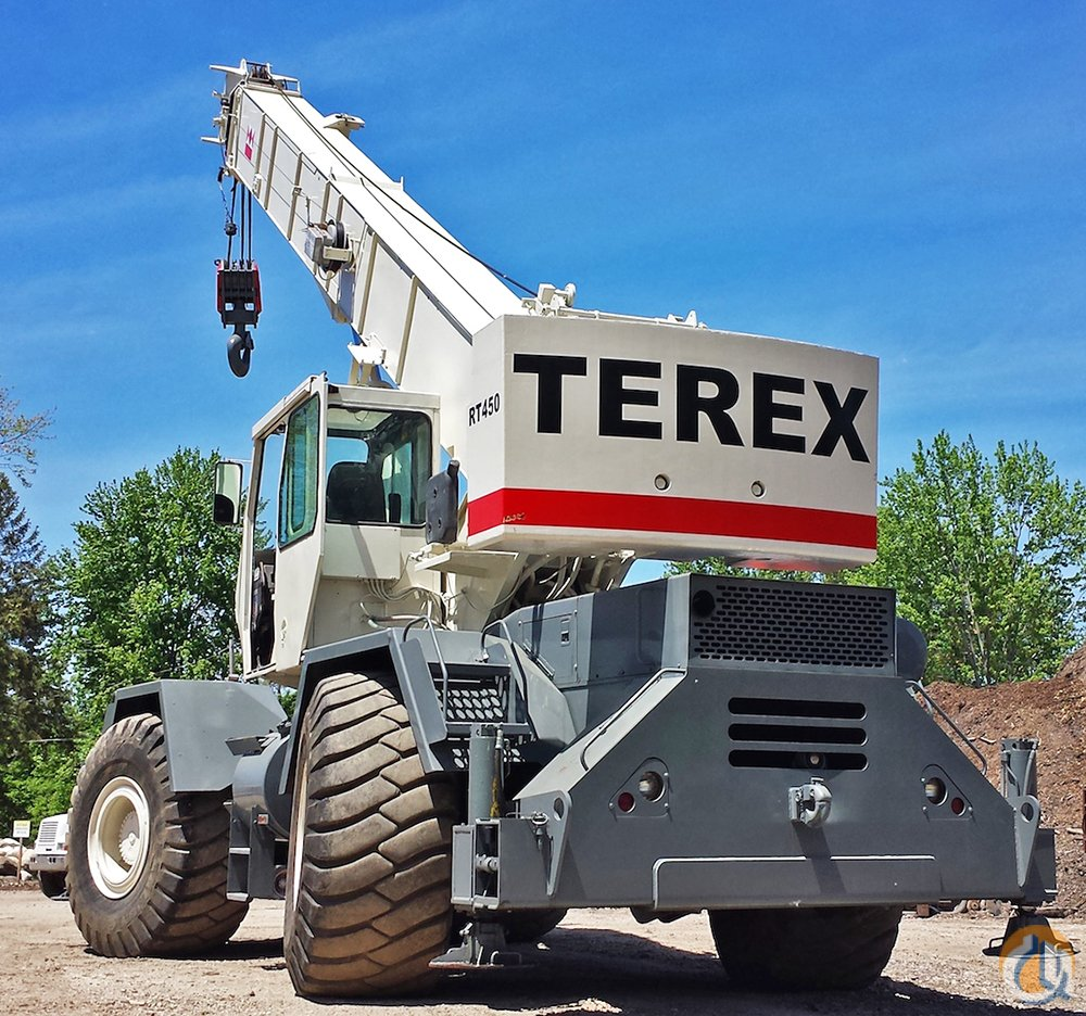 1997 TEREX RT450 - PRICE REDUCED Crane for Sale in Grand Rapids Michigan on CraneNetworkcom