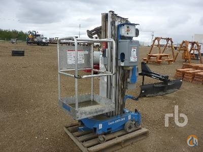 Sold 2011 GENIE AWP-30S Crane for  in Saskatoon Saskatchewan on CraneNetwork.com