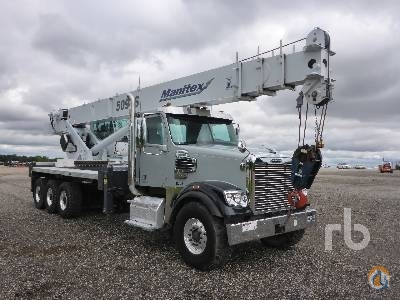 Sold 2013 FREIGHTLINER SD122 Crane for  in Lake Worth Texas on CraneNetwork.com
