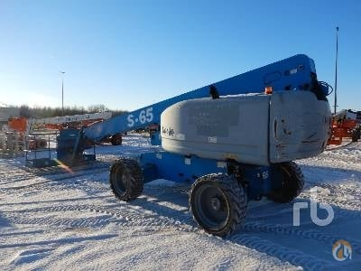 Sold 2008 GENIE S65 Crane for  in Caledon Ontario on CraneNetwork.com