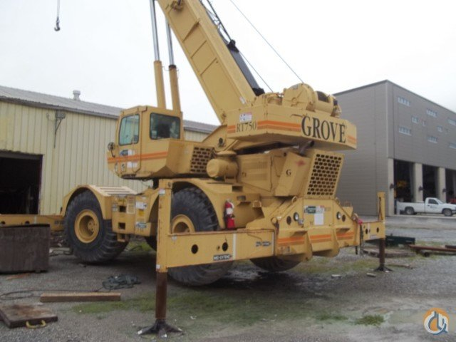Sold 2001 Grove RT750 Rough Terrain Crane for  in Baton Rouge Louisiana on CraneNetwork.com