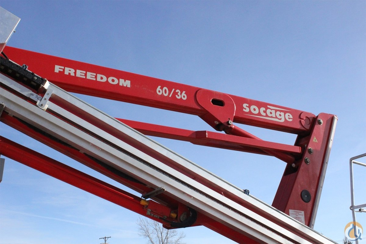 New Socage Freedom 6036 aerial man lift Crane for Sale in Olathe Kansas on CraneNetwork.com