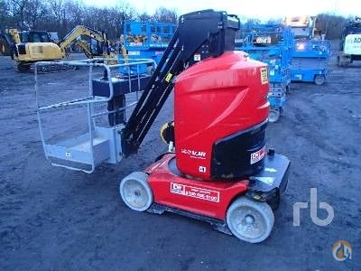 Sold 2013 MANITOU 100VJR Crane for  on CraneNetwork.com