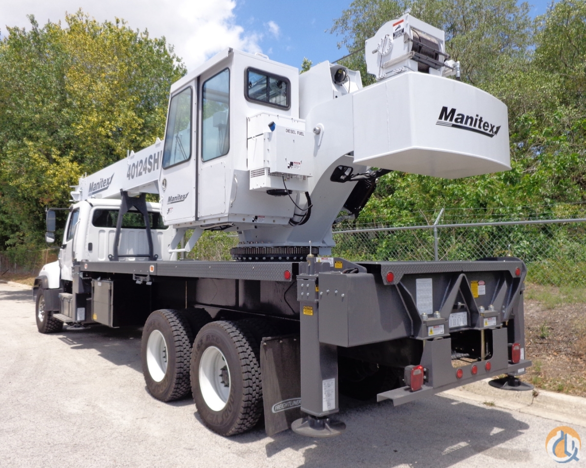 Sold New 2017 Manitex 40124SHL on a New 2016 Freightliner 114-SD Crane for  in Tampa Florida on CraneNetwork.com