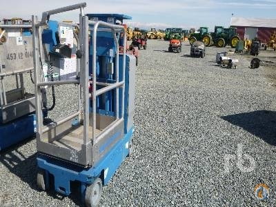 2012 GENIE GR12 Crane for Sale in Tipton California on CraneNetwork.com
