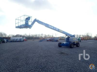 Sold 2006 GENIE S85 Crane for  in Zevenbergen Noord-Brabant on CraneNetwork.com