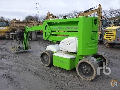 Sold 2014 NIFTYLIFT HR15NDE Crane for  on CraneNetwork.com