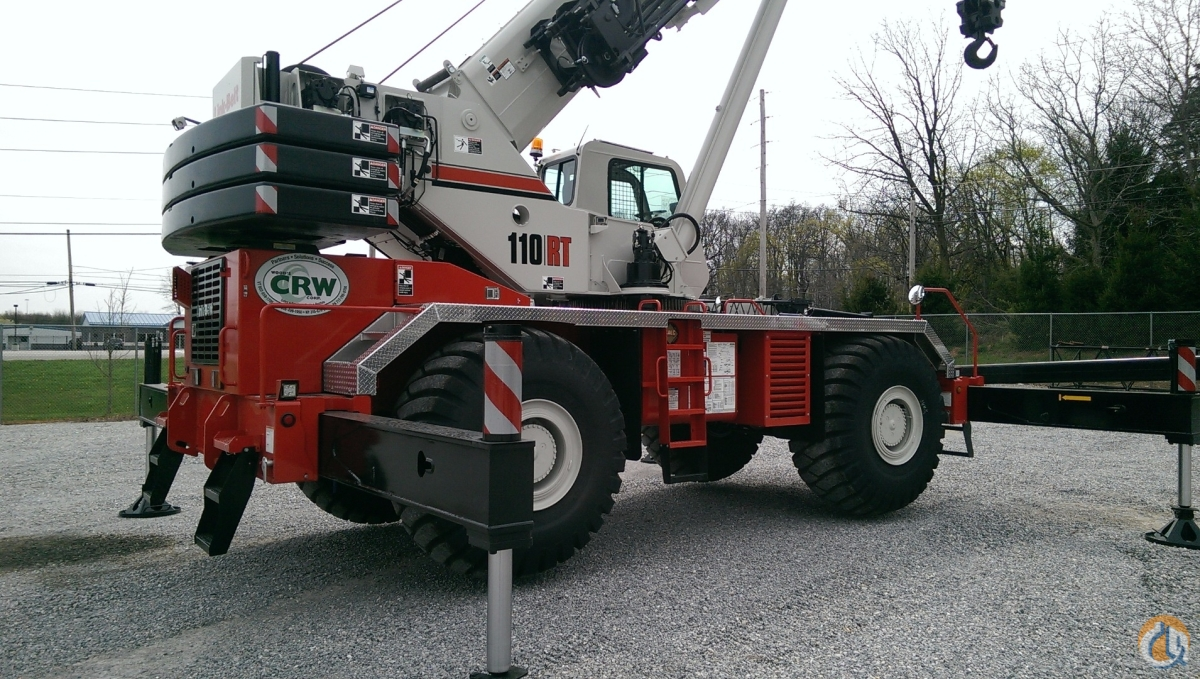 2017 Link-Belt 110RT Crane for Sale in Williston Vermont on CraneNetworkcom