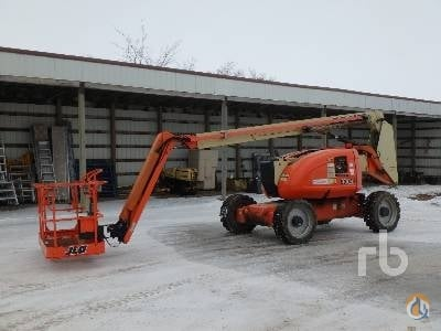 2007 JLG 600AJ Crane for Sale in Eatonia Saskatchewan on CraneNetwork.com