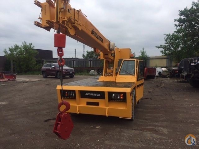 2006 Broderson IC 80-3G Dual Fuel Crane for Sale or Rent in Cambridge Ontario on CraneNetwork.com