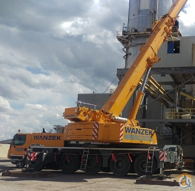 Sold 2014 Liebherr LTM1130-5.1 Crane for  in Fargo North Dakota on CraneNetwork.com