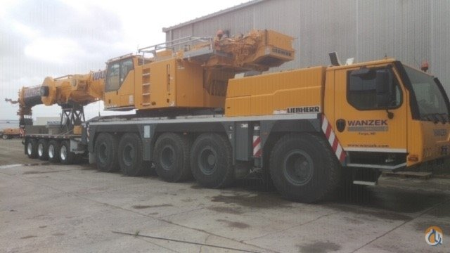 2014 Liebherr LTM1130-5.1 Crane for Sale in Fargo North Dakota on CraneNetwork.com