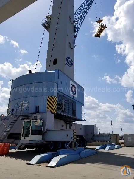 2008 Gottwald HMK6407 Mobile Harbor Crane Crane for Sale in Gulfport Mississippi on CraneNetwork.com