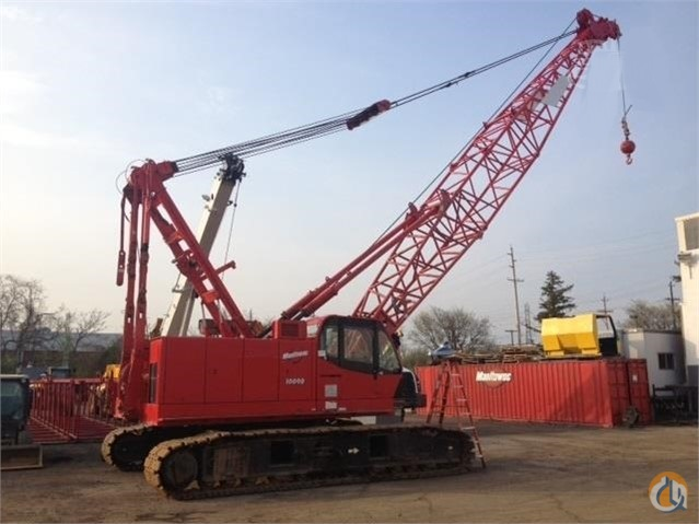 2006 Manitowoc 10000 Crane for Sale in Piscataway Township New Jersey on CraneNetwork.com