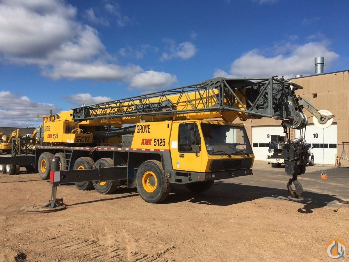 1993 KRUPP KMK 5125 Crane for Sale on CraneNetworkcom