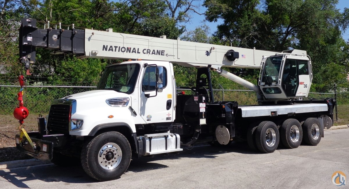 Sold 2014 National NBT36 on a 2014 Freightliner 114SD Crane for  in Tampa Florida on CraneNetwork.com
