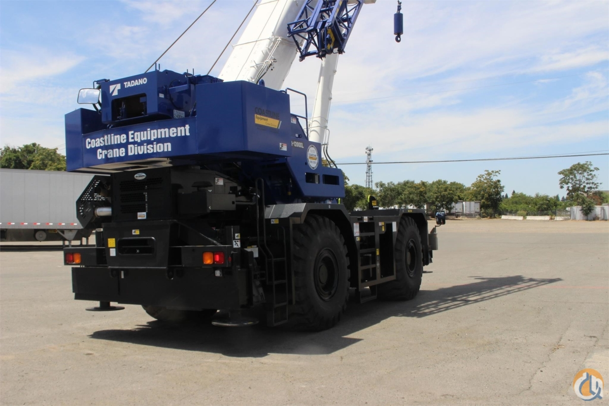2018 TADANO GR1200XL Crane for Sale in Sacramento California on CraneNetwork.com