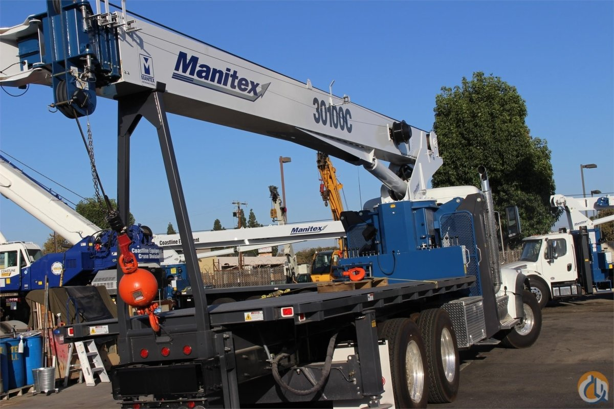 2018 MANITEX 30100C Crane for Sale or Rent in Santa Ana California on CraneNetwork.com