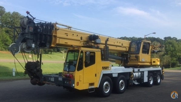 Sold 2006 Grove TMS900E 90 Ton Hydraulic Truck Crane Crane for  in Jasper Georgia on CraneNetwork.com