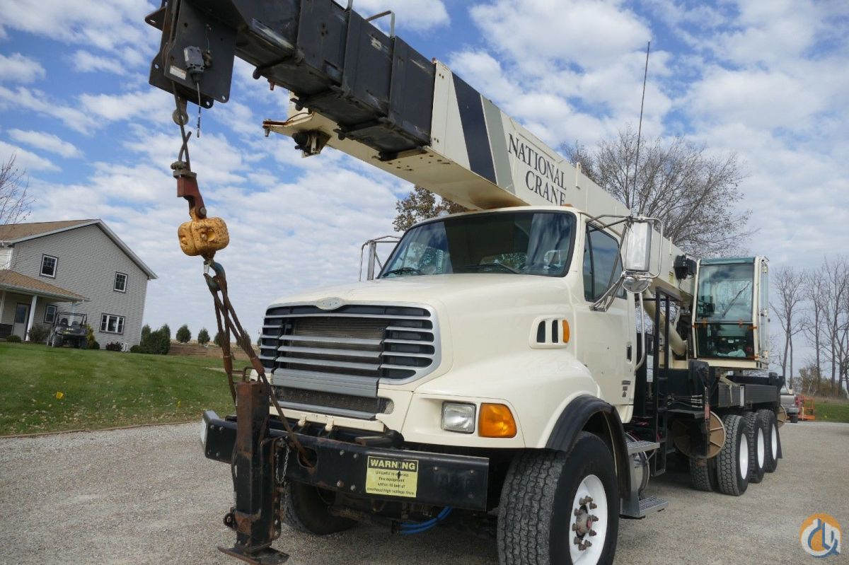Sold National 14127A 33 Ton Crane on a 2008 Sterling ...