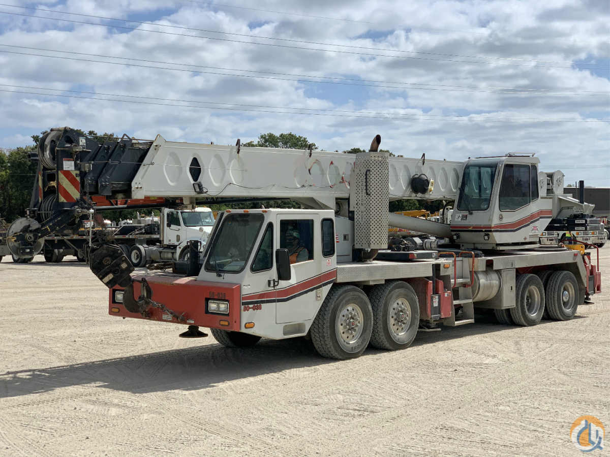 2009 LINK BELT HTC8660 II Crane for Sale in Dallas Texas on CraneNetwork.com