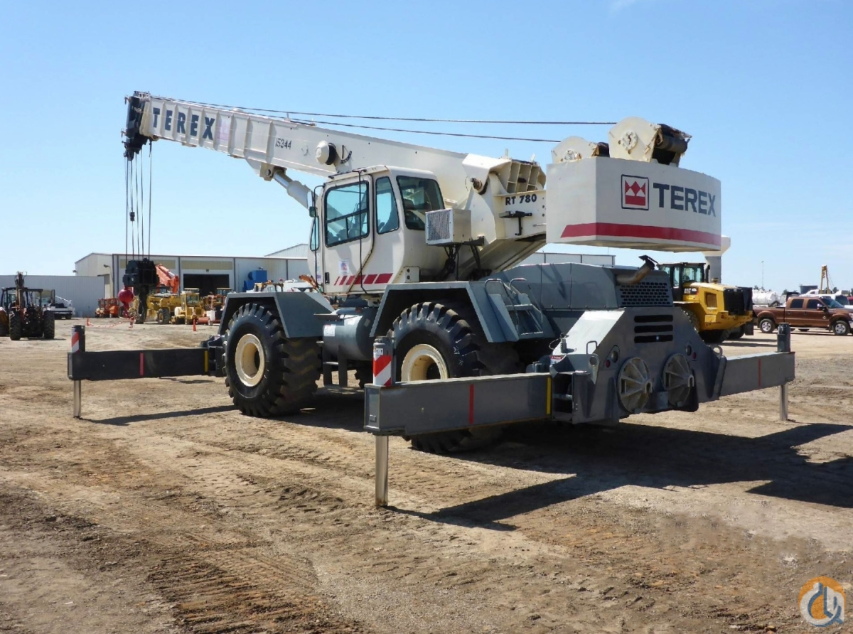 2007 TEREX RT-780 Crane for Sale or Rent in Savannah Georgia on CraneNetwork.com