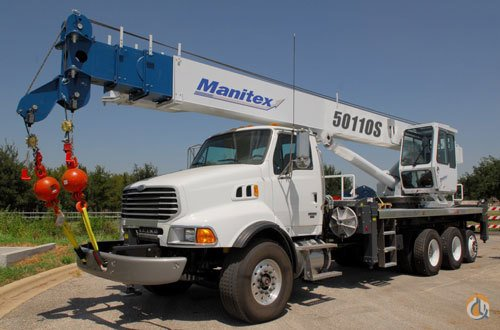 2017 Manitex 50110S Crane for Sale on CraneNetworkcom