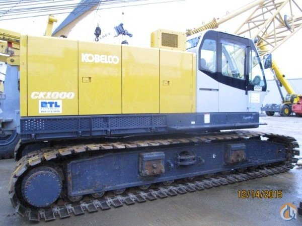 2007 Kobelco CK1000-III Crane for Sale in Grimes Iowa on CraneNetworkcom