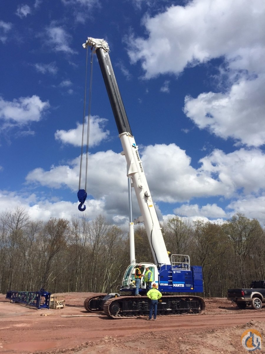 Tadano GTC800 IN STOCK Crane for Sale in Richlands Virginia on CraneNetworkcom