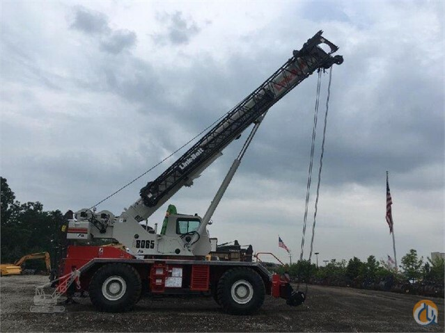 2017 Link-Belt RTC 8065 II Crane for Sale in Lyon Charter Township Michigan on CraneNetwork.com