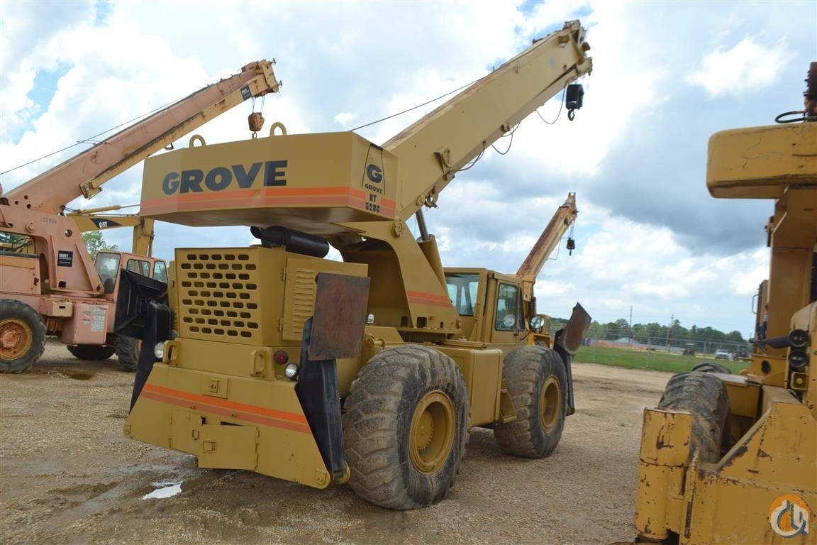 GROVE RT58C 18 TON CAP ROUGH TERRAIN CRANE Crane for Sale in Livingston Louisiana on CraneNetworkcom