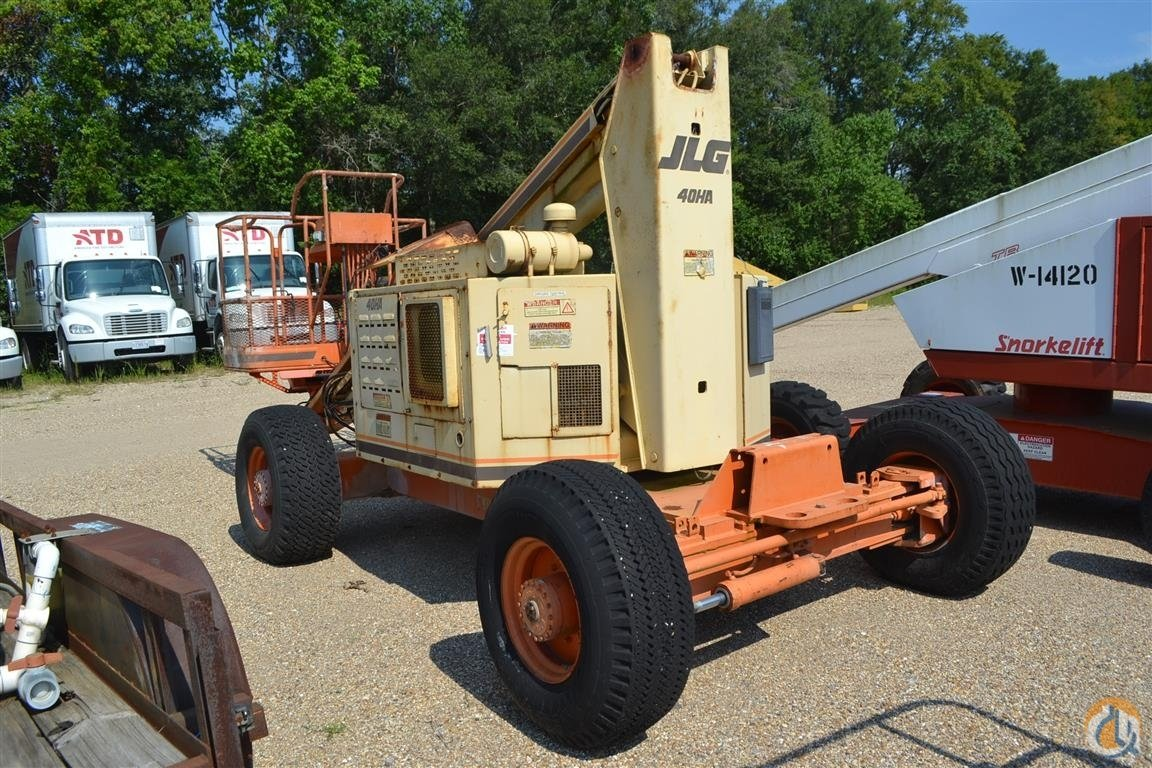 Sold JLG 40HA Crane for  in Livingston Louisiana on CraneNetwork.com