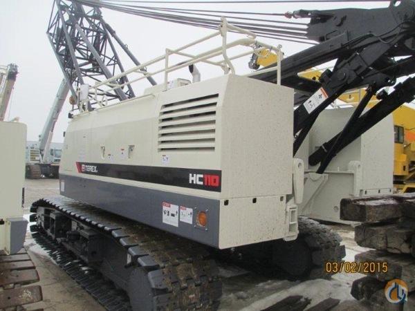 sold 2015 terex hc110 crane for on cranenetwork com rh cranenetwork com Terex 110 Forestry Terex Forestry Mulcher
