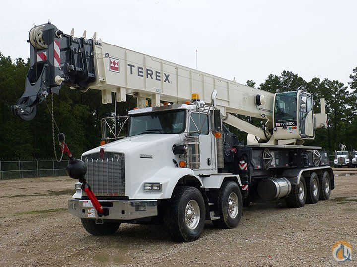 sold terex crossover 8000 on kw t800 crane for in houston. Black Bedroom Furniture Sets. Home Design Ideas