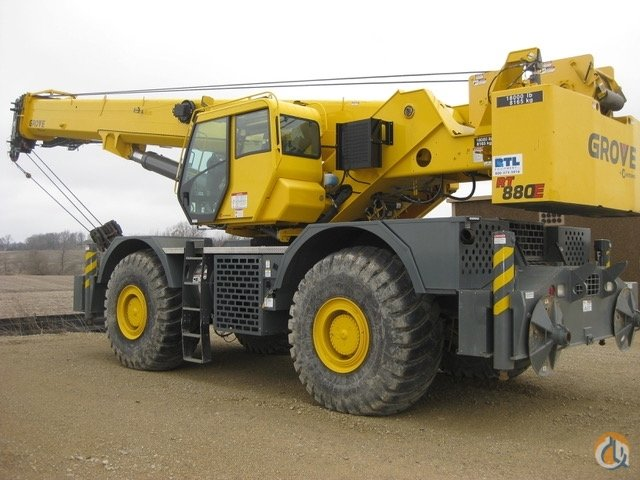 2012 Grove RT880E Crane for Sale on CraneNetworkcom