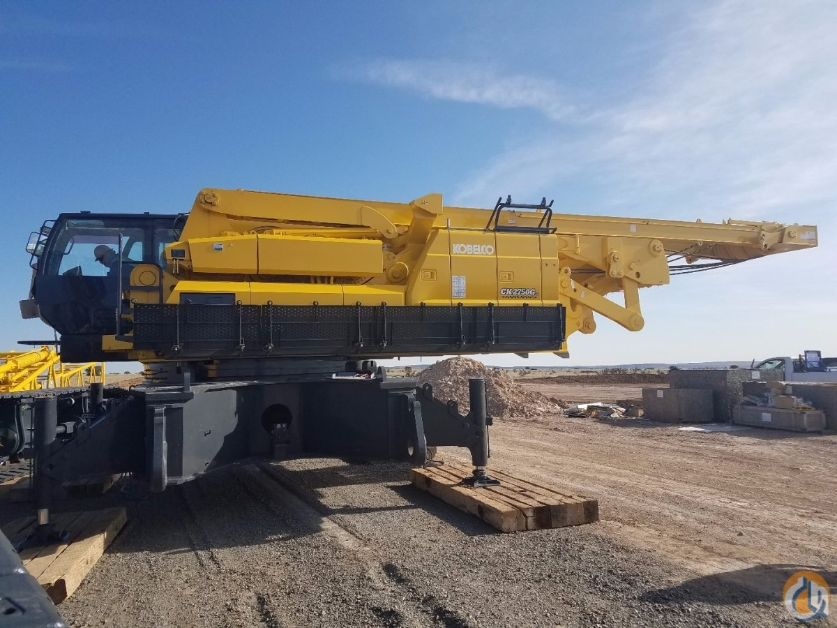2016 Kobelco CK2750G Crane for Sale on CraneNetwork.com