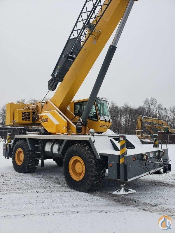 2010 Grove RT650E Crane for Sale or Rent in Branchburg New Jersey on CraneNetwork.com